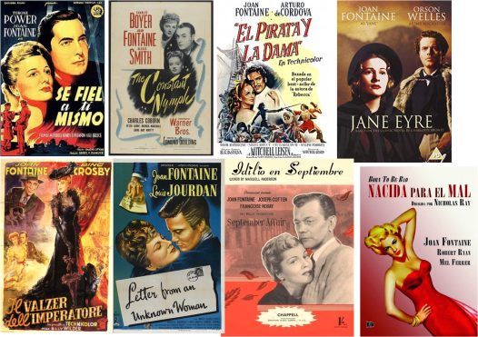 Joan Fontaine afiches
