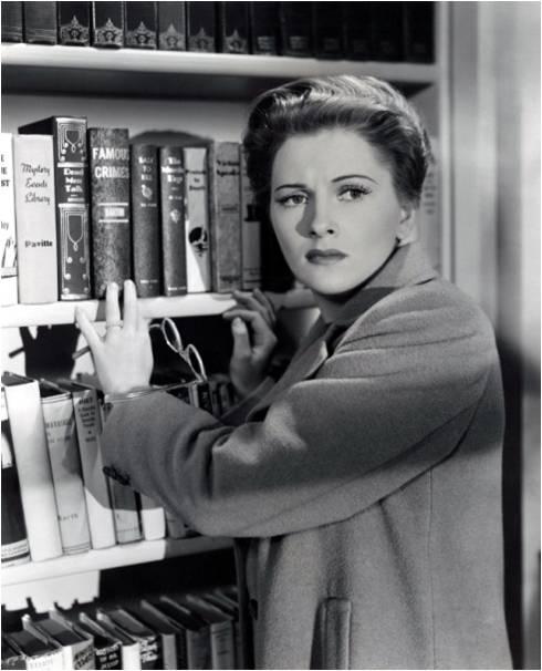 Joan Fontaine en Sospecha (1941)