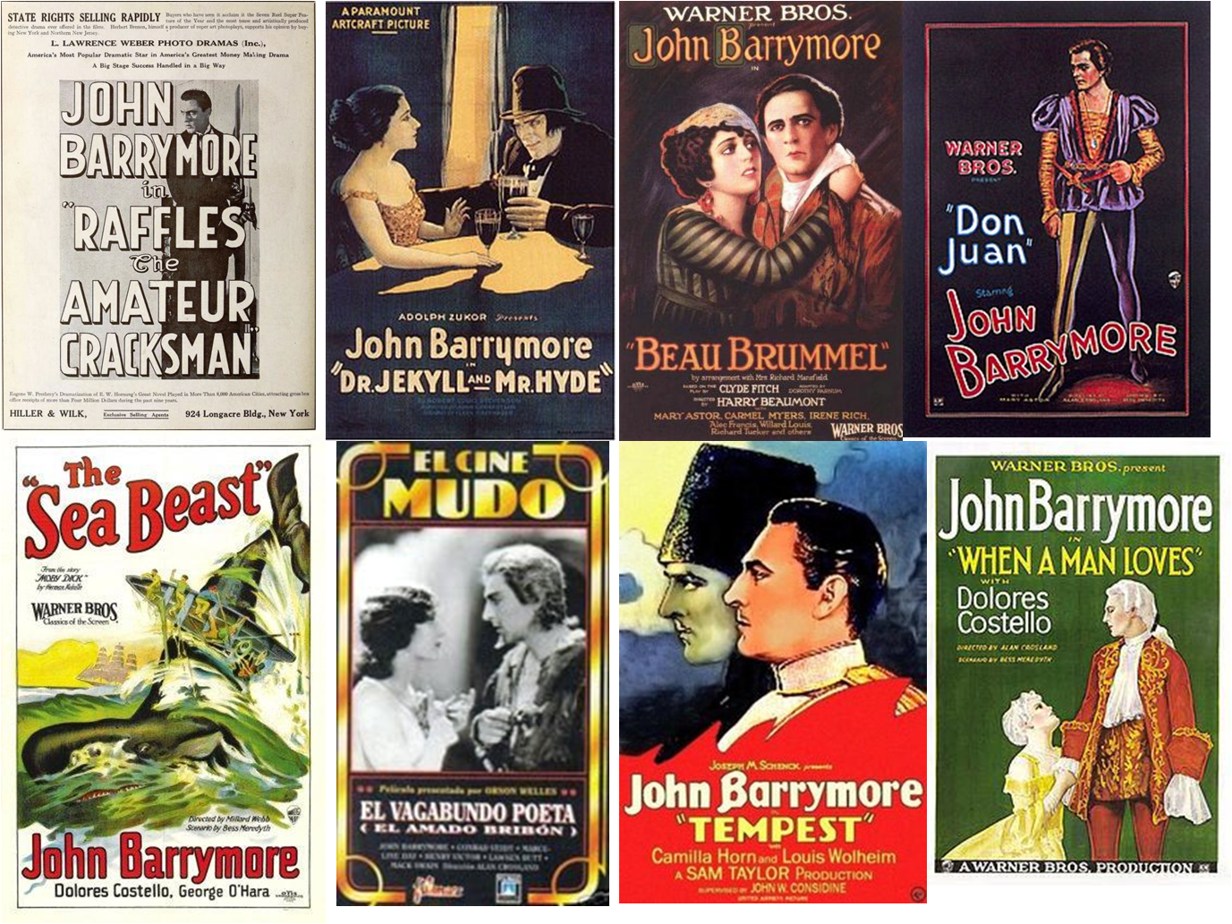 John Barrymore afiches