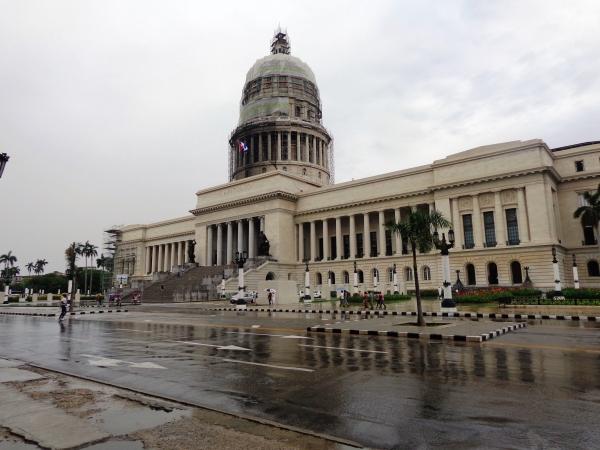 El Capitolio en restauración, 2018