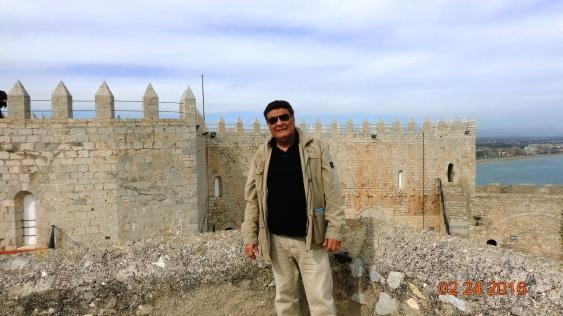 En el castillo de los Templarios