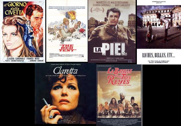 Claudia Cardinale afiches 3