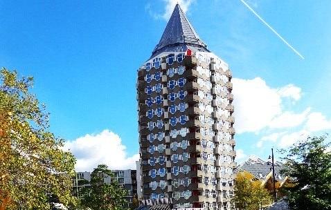 Edificio en el centro de Rotterdam