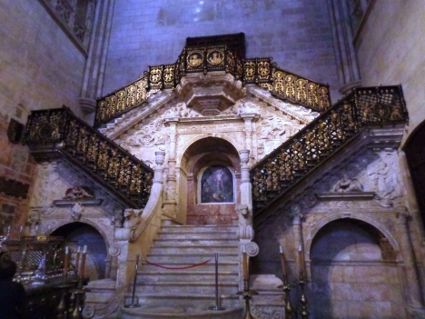 Escalera dorada, Catedral Burgos
