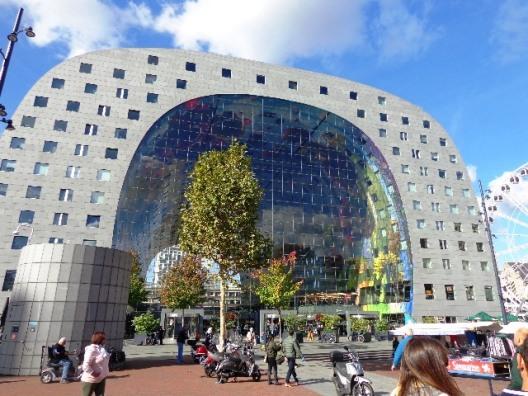 Markthal o Mercado de Rotterdam