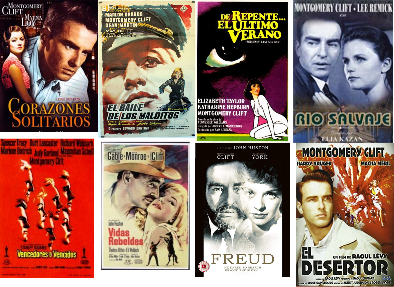Montgomery Clift afiches 2