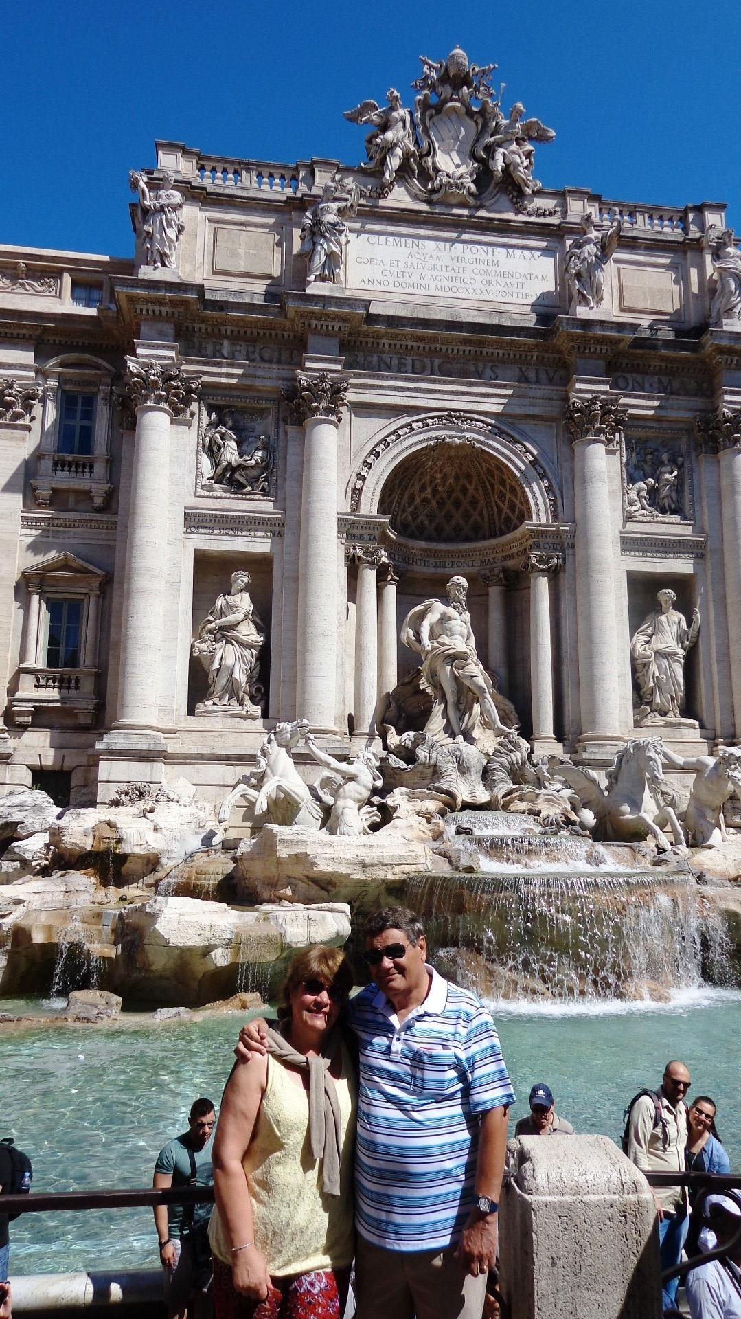 En la Fontana di Trevi
