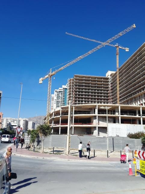 Construcción en Benidorm