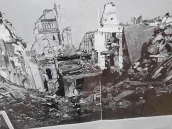 Destrozos de Colonia durante la II Guerra Mundial