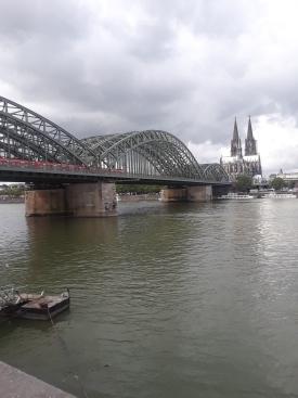 Puente sobre el Rin en Colonia