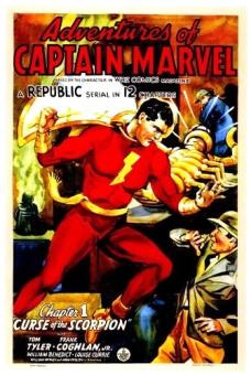Afiche Capitan Marvel