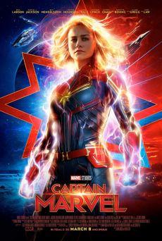 Afiche Capitana Marvel