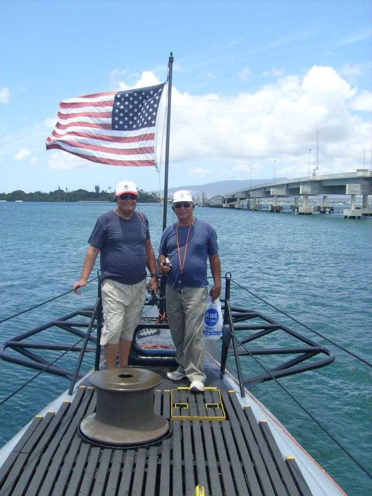 En la Popa del Submarino Bowfin