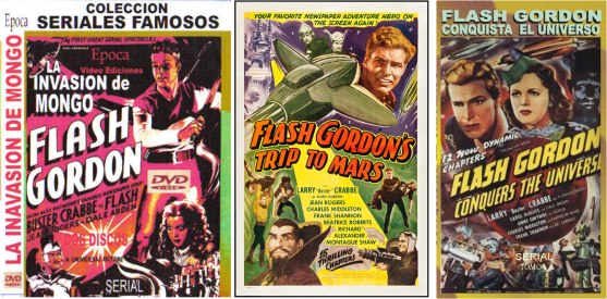 Flash Gordon afiches