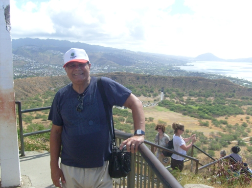 Yo en Heaven Trail, isla Oahu 3