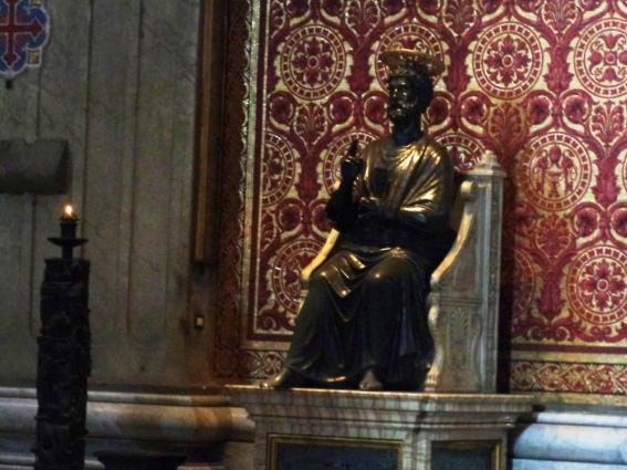 Estatua de San Pedro