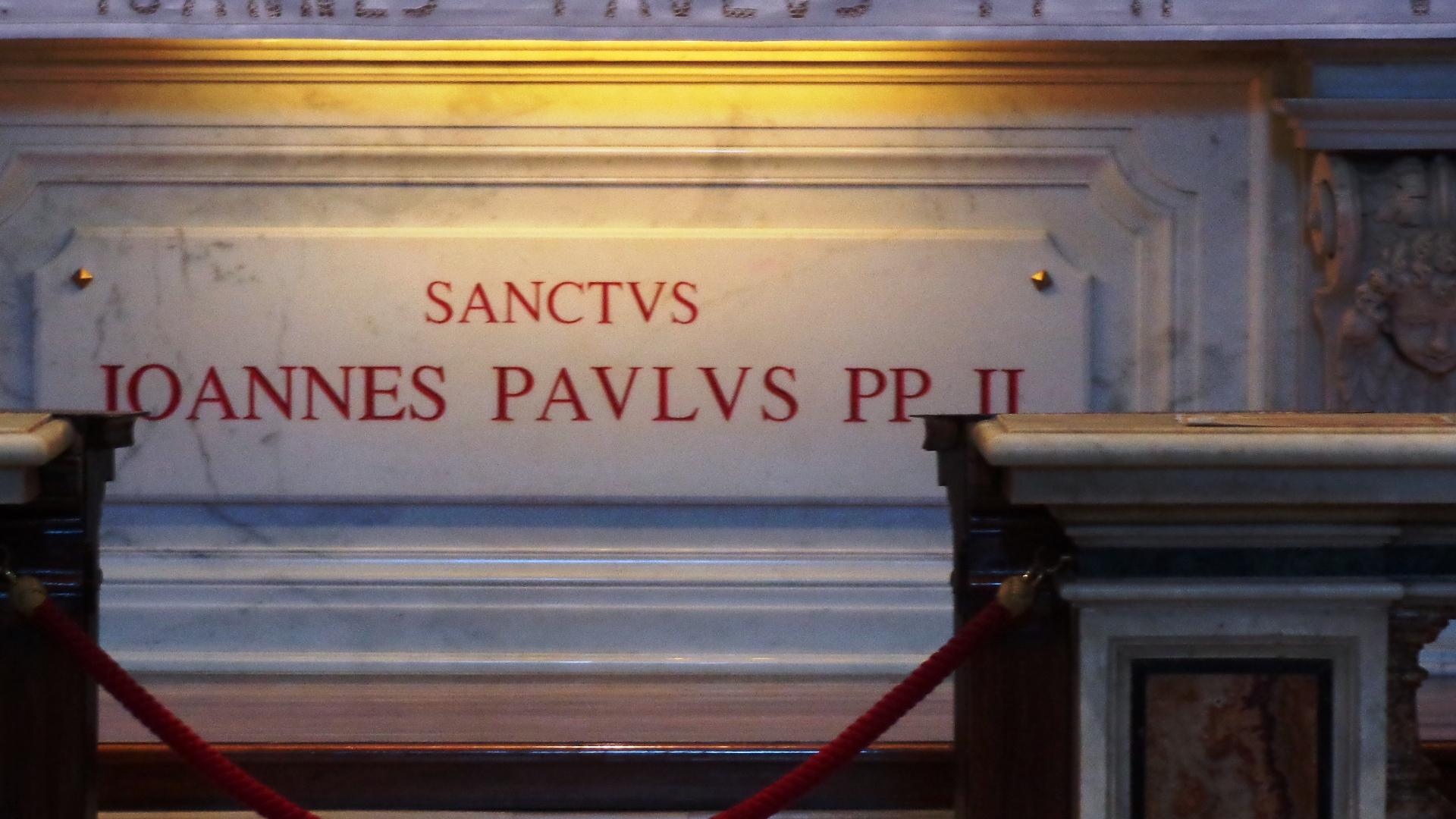 Sepulcro de Juan Pablo II