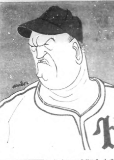 Miguel Ángel González en una caricatura de la época