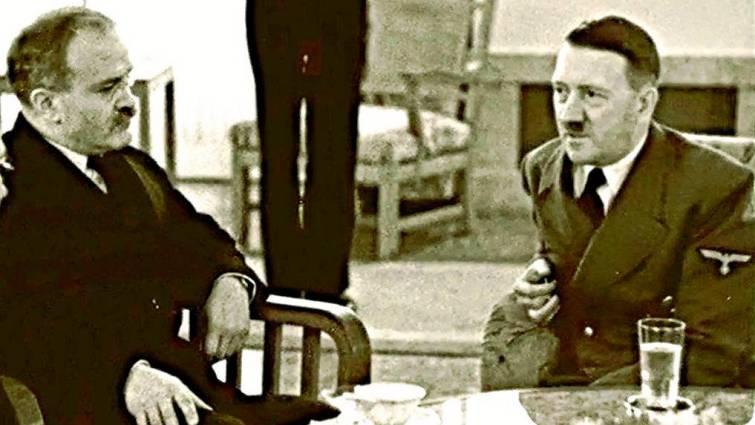 Molotov se entrevista con Hitler