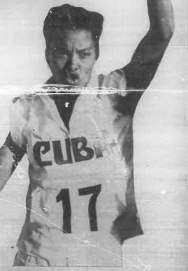 Berta Díaz en México 1955