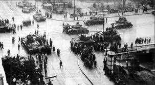 Entrada de las tropas soviéticas el 4 noviembre de 1956