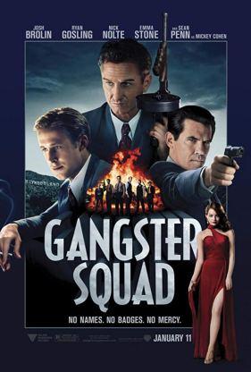 Gangster squad, afiche