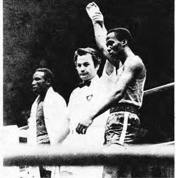 Jorge Hernández campeón mundial 1974