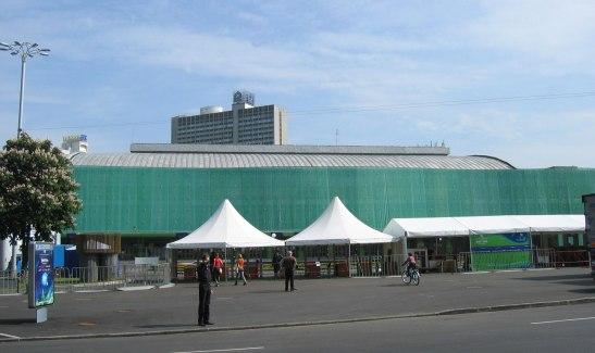 Palacio de los Deportes en Kiev