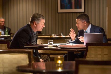 Smith y Baldwin en una escena del film