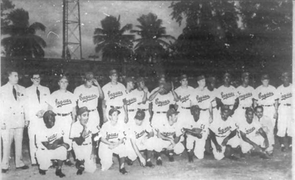 Equipo Caguas campeón Serie del Caribe 1954