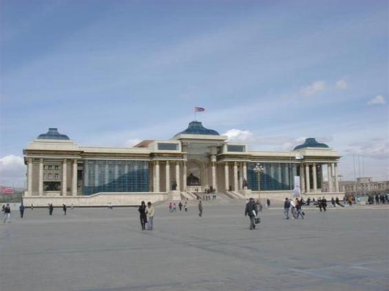 Plaza Sukhe Bator