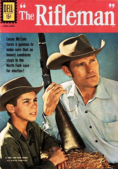 Chuck-Connors-Rifleman-Comic