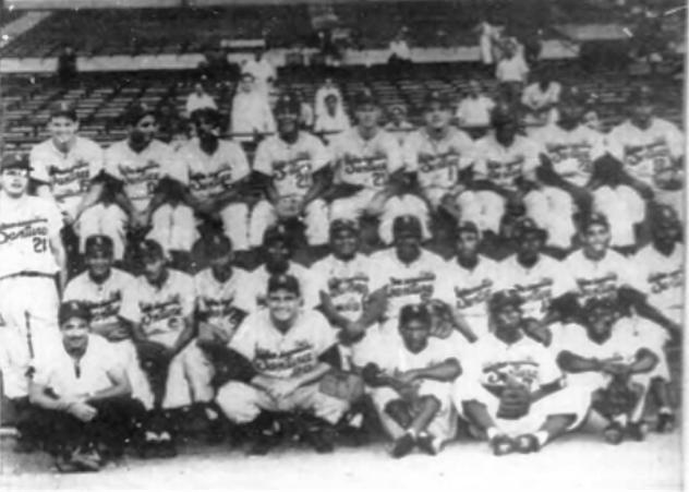 Equipo PR campeón serie del Caribe 1953