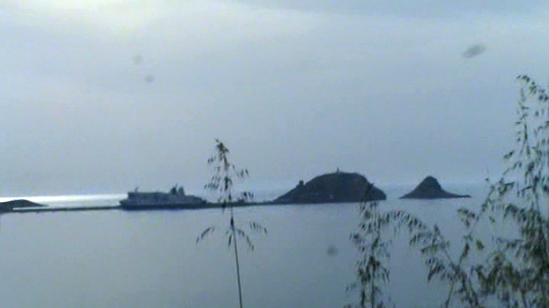 Isla de Pietra cerca de la Ile Rouge