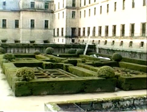 Jardín de los Frailes, Escorial