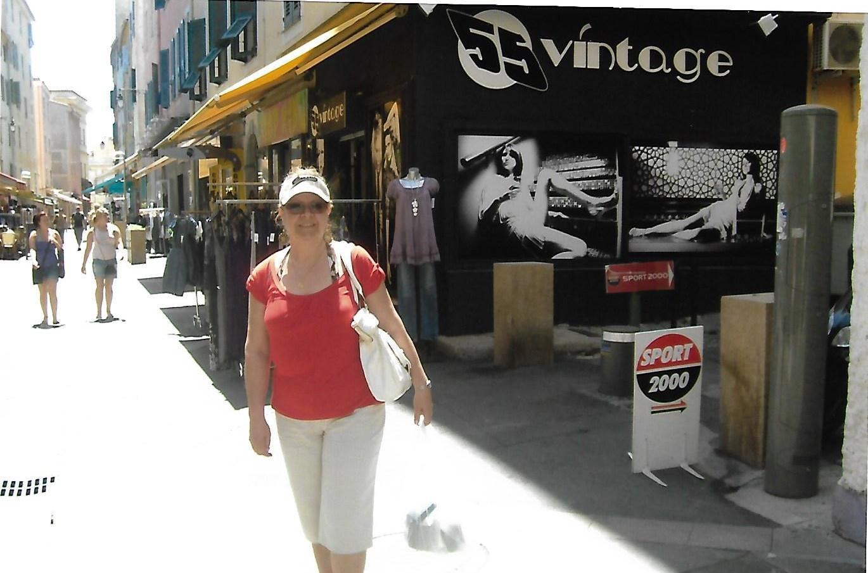 Miriam en Ajaccio