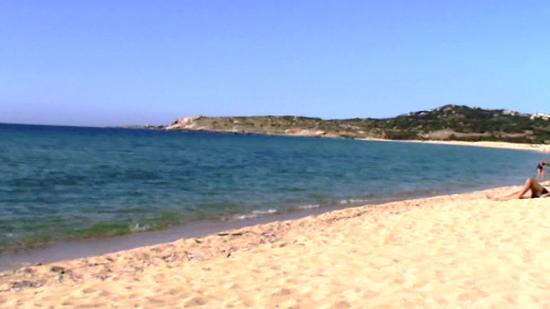Playa Algajola, Corcega