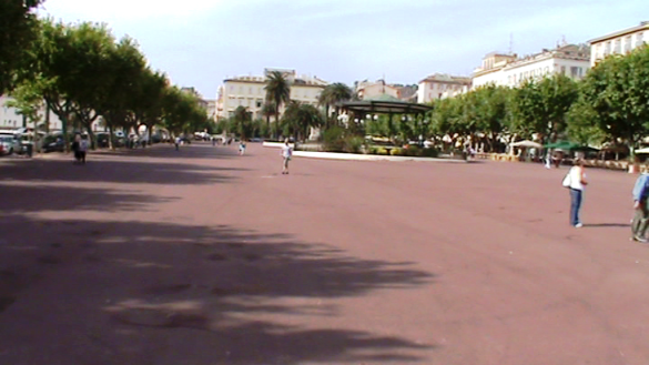 Plaza San Nicolás en Bastia