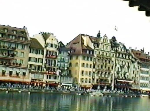 Lucerna y el río Reuss