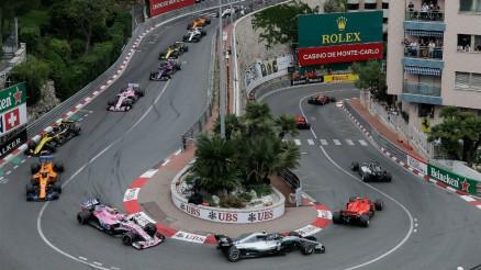 Pista de carrera de automóviles en Mónaco