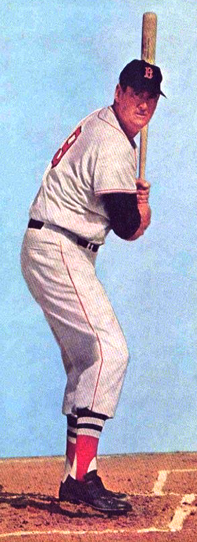 Ted Williams hitting 2
